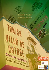 XI CARRERA POPULAR 10K Y 5K VILLA DE CATRAL @ Catral