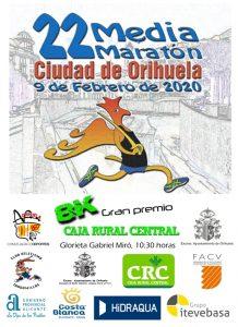 XXII Medio Maratón Ciudad de Orihuela @ Orihuela