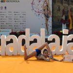 Celia Belda roza la medalla en el Campeonato de España