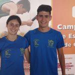 Alejandro Martínez y Sandra Moscardó brillan en el Campeonato de España
